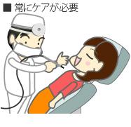 入れ歯の短所